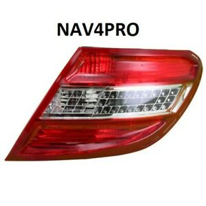 NEW 2008-2011 Mercedes Benz C class OE Style Passenger Side Outer Tail Light