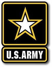 """MAGNET US ARMY MILITARY CAR TRUCK 5.5"""" x 4"""" HIGH QUALITY MADE IN USA"""