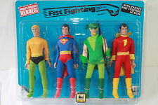 WGSH MEGO SUPER POWERS 4 PACK SERIES 1; 8 INCH FIGURES LIMITED EDITION 100 PIECE