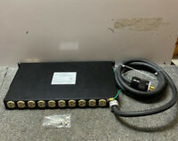 NOS Eaton TPC4100-A2, AC Power Distribution Strip 12 Outlet, Input: 3 PH 120/208