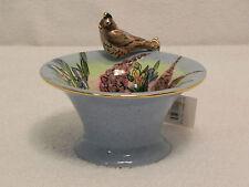 Robin'S Song-Bird Bath-Heather Goldminc-Bowl/Votive/Vase -2002-Blue Sky Clayworks