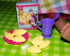 """Disney Minnie Mouse Pasta Dinner Play food lot fits American Girl Dolls 16"""" 18"""""""
