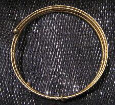 GOLD Tone metallo involucro intorno Stile Braccialetti circa 2 5/8 INS Wide