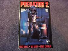 PREDATOR 2    # 1   FEB 1991 -WITH TWO DARK HORSE TRADING CARDS INSIDE