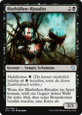 2x sangre fundas-ritualist (bloodhusk ritualist) comandante 2017 Magic
