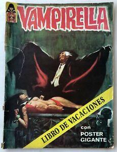 VAMPIRELLA VACACIONES 1973 HORROR ARGENTINA EDITORIAL MAZZONE