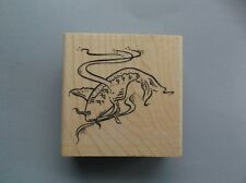 WHIPPER SNAPPER RUBBER STAMP COI FISH NEW wood STAMP