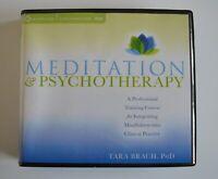 Meditation & Psychotherapy: by Tara Brach, PhD - Audiobook 8CDS