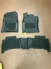 TOYOTA 4RUNNER 2016-2020 3PCS BLACK ALL WEATHER FLOOR LINERS PT908-89160-02