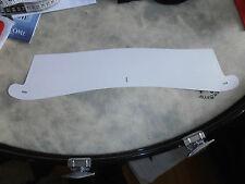 "WW2 White Cardboard Stiff Collar Style 11 -15 1/2"""