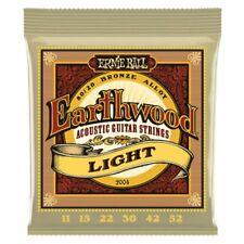 Ernie Ball Earthwood Light Acoustic 6 Guitar Bronze Strings