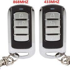 1 clonage Télécommande porte-clé 433/868Mhz universel porte Garage Portail clef