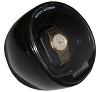 Diplomat Watch Winder Black Color Single Automatic  With Built In IC Timer