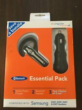 NEW! Plantronics Explorer 320 Bluetooth Headset & Travel Charger