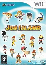 JOB ISLAND for Nintendo Wii - with box & manual - PAL
