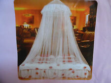 ROUND MOSQUITO NETTING FOR BED etc FOR TWIN FULL OR QUEEN BED OR FOR OUTSIDE USE