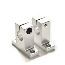 2Pcs SK12 12mm Bearing CNC Aluminum Linear Rail Shaft Guide Support Economic SL