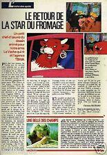 Coupure de presse Clipping 1988 (1 page) Le Fromage La vache qui Rit