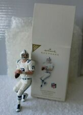 Hallmark Peyton Manning Ornament NFL Indianapolis Colts Football Legends 2008