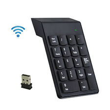 2.4G Wireless USB Mini 18-keys Num Pad Numeric Number Keypad Keyboard for Laptop