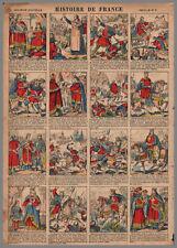 imagerie NOUVELLE VAGNé HISTOIRE de FRANCE PL  06  28x39cm