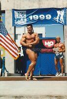 BODYBUILDING Found Photo PHOTOGRAPHER GENE MOZEE Muscle Beach Archive 812 21 U