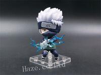 Anime Naruto Hatake Kakashi Nendoroid 4'' PVC Action Figure Model Toy Present
