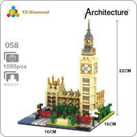 BS Architecture Oriental Pearl Radio TV Tower Diamond Blocks Mini Building Toy