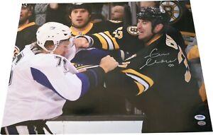 Zdeno Chara Signed Boston Bruins Fighting 16x20 Photo SGC & PSA COA LST474
