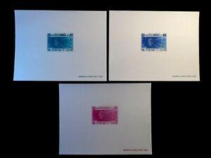 CAMBODIA Presentation PROOF Stamp Sheets Scott 240-242 MNH Rare Item