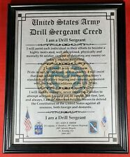 Mc-Nice: Army Drill Sergeant Creed All Units Farmed Personalized