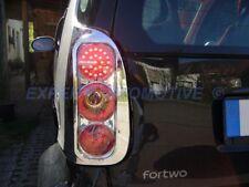 FANALI FARI CROMO POSTERIORI A LED SMART FORTWO MC01 DAL 1998 AL 2006