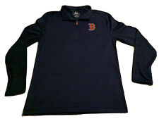 BOSTON RED SOX MLB LONG SLEEVE DRI FIT 1/4 ZIP PULL OVER SHIRT MAJESTIC TEE *NEW