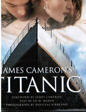 "James Cameron's TITANIC (GIGANTIC 12x15"" softbound bok (on making of the classic"