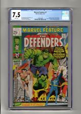 MARVEL FEATURE 1 Origin & 1st App The Defenders Marvel 1971 CGC 7.5 Graded