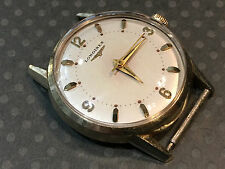 Vintage Longines Wristwatch Gold filled case Stainless Steel Warm Patina 23ZS