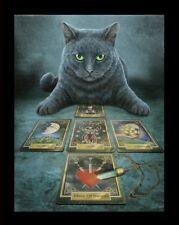 Kleine Leinwand mit Katze - The Reader - Lisa Parker Fantasy Druck Poster Bild