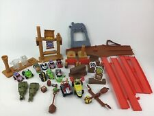 Angry Birds Go Building Toy Tracks Game Race Cars Figures Pieces Parts 43pc Lot