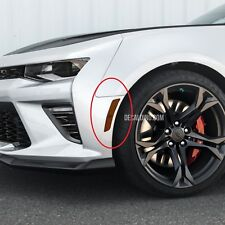 2016+ Camaro Reflector Overlay Dark Tint Kit -  Smoke Front Side Markers