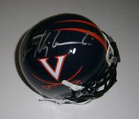 VIRGINIA Don Majkowski signed mini helmet w/#1 AUTO JSA COA Autographed Packers