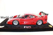 BBR p18131 ferrari f40 LM rosso corsa Limited 300 trozo de nuevo 1:18 en OVP