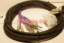 "Nuevo 7.5 M Digidesign Avid 25 D Sub Macho a 8 Cable Jack Estéreo Neutrik TRS 1/4"" #3"
