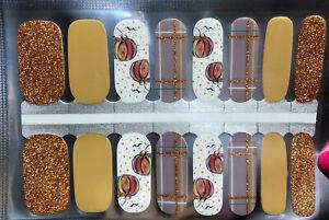 Color Nail Polish Strips, 16ct. Pumpkin Spice Please Read  DESCRIPTION BELOW