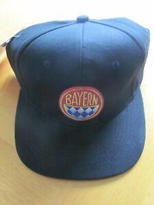 FC Bayern Munich München Bundesliga Soccer Break Snap Cap Flat Brim Hat Old Logo
