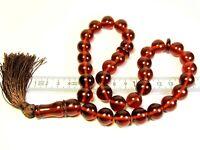 Pressed Baltic Amber Tasbih Islamic Muslim Rosary 33 prayer beads 59 grams 3367
