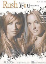 Rush - Aly & AJ - 2005 Sheet Music