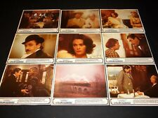 LE CRIME DE L'ORIENT EXPRESS agatha christie  jeu photos lobby cards cinema 1975