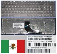 Clavier Qwerty Latino HP ProBook 6560B 6565B 8560p 55011GW0020 641179-161 NOIR