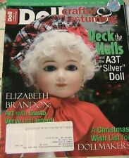 Doll Crafter & Costuming December 2009 cloth~porcelain~polymer patterns~costumes