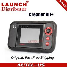 LAUNCH Creader VII+ OBD2 Car Diagnostic Scanner As CRP123 ABS SRS Engine Airbag